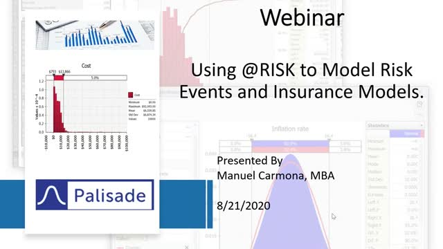 Using @RISK to Model Risk Events and Insurance Models
