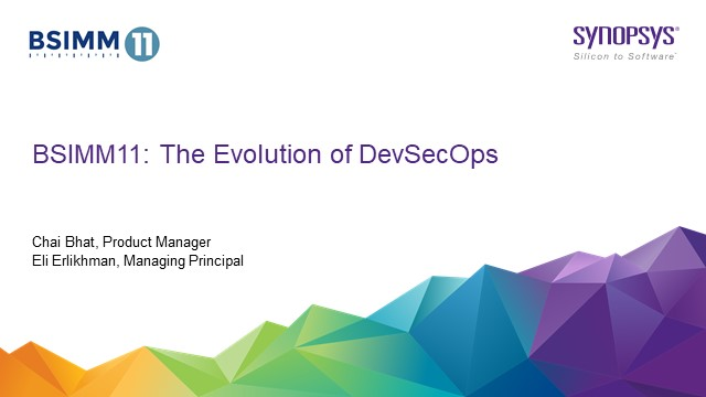 BSIMM11: The Evolution of DevSecOps