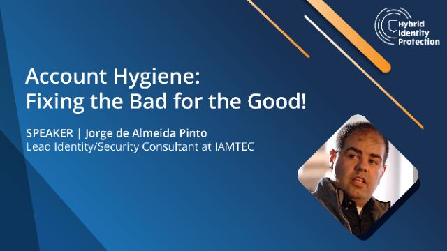 Account Hygiene: Fixing the Bad for the Good!