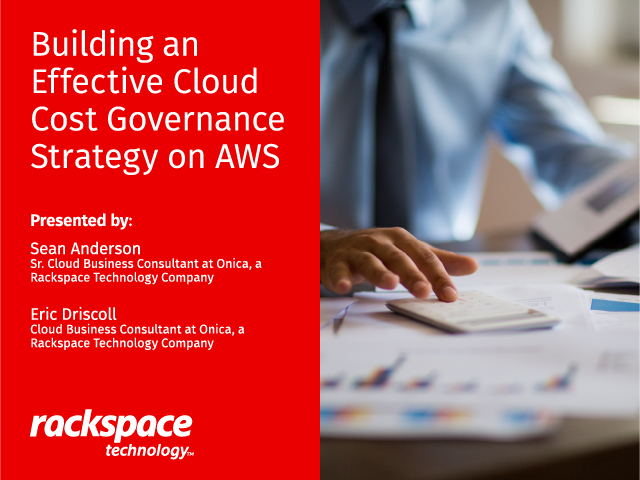 Building an Effective Cloud Cost Governance Strategy on AWS