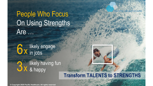 Transform Talents to Strengths