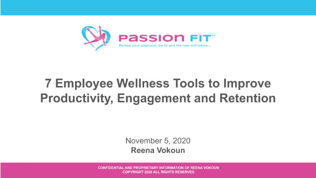 7 Employee Wellness Tools to Improve Productivity, Engagement and Retention