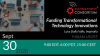 Funding Technology Innovations: Intro to Public & Private Funding for SMEs