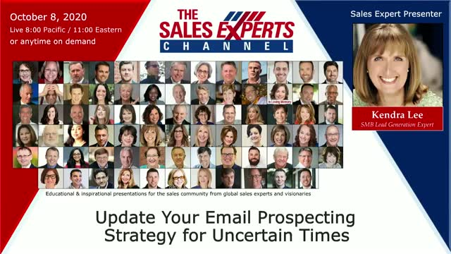 Update Your Email Prospecting Strategy for Uncertain Times