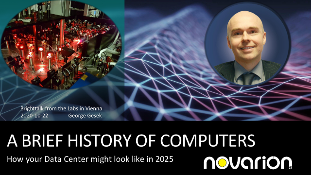 A brief history of Computers – Your Data Center in 2025