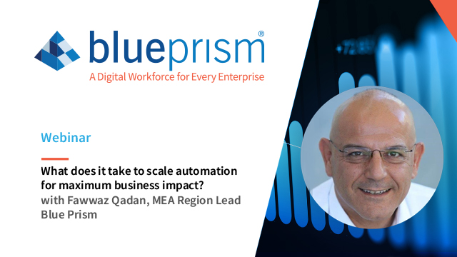 What does it take to scale automation for maximum business impact