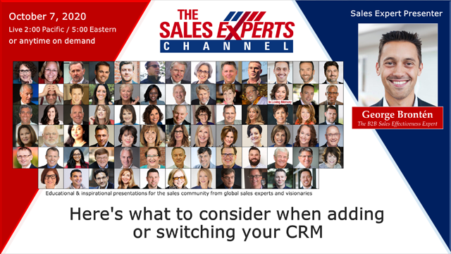 Here's what to consider when adding or switching your CRM