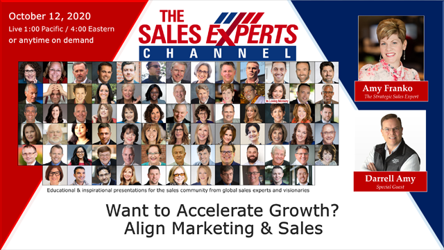 Want to Accelerate Growth? Align Marketing & Sales