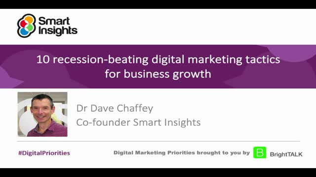 10 recession-beating digital marketing tactics for business growth