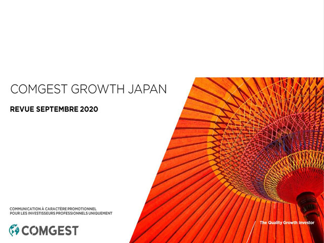 Comgest - Actions Japon - revue septembre 2020