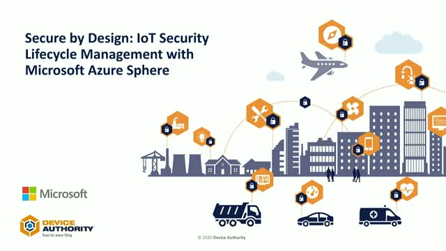 Secure by Design: IoT Security Lifecycle Management with Microsoft Azure Sphere