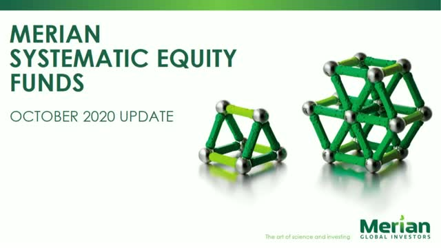 Systematic Equities update with Dr Ian Heslop and Justin Wells – Q3 2020 AM