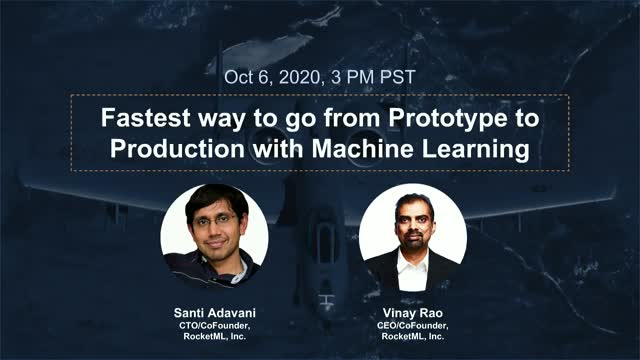 Fastest Way to go from Prototype to Production with Machine Learning