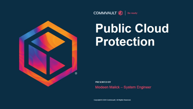 Public Cloud protection – AWS and MS-Azure