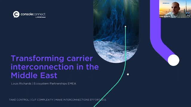 Transforming carrier interconnection in the Middle East