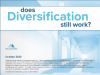 Does diversification still work?