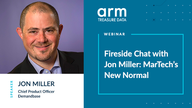 Fireside Chat with Jon Miller: MarTech's New Normal