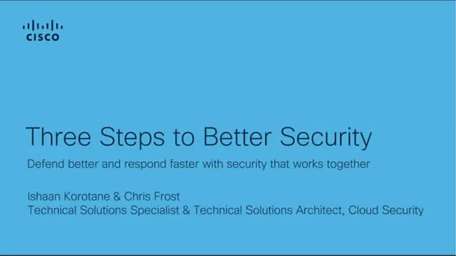 3 simple steps to improve IT Security at your organisation