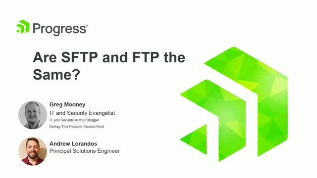Are SFTP and FTP The Same?