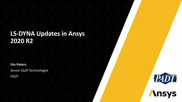 LS-DYNA Updates in Ansys 2020 R2