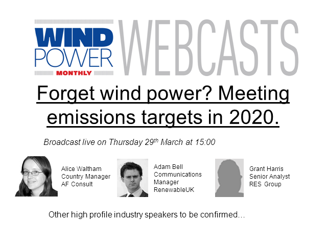 Forget Wind Power? – Meeting Environmental Targets in 2020