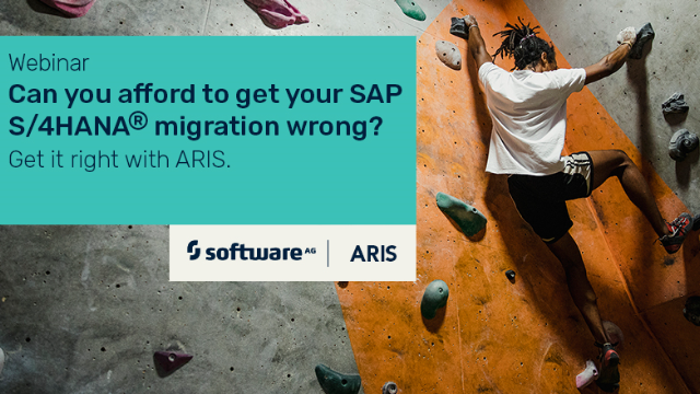 Can you afford to get your SAP S/4HANA® migration wrong? Get it right with ARIS
