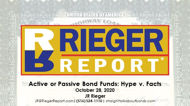 Active v. Passive Bond Funds: Hype & Facts