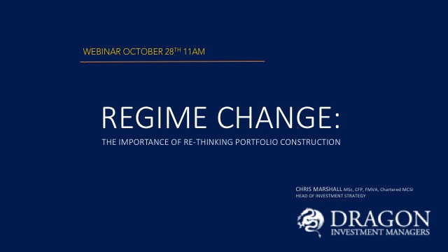 Regime Change: the importance of re-thinking portfolio construction
