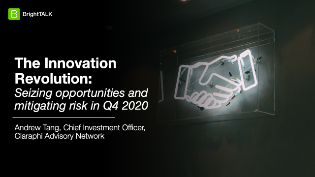 The Innovation Revolution: Seizing opportunities and mitigating risk in Q4 2020