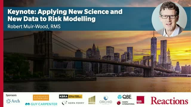 Keynote: Applying New Science And New Data To Risk Modeling