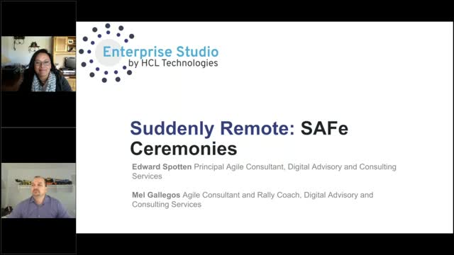 Suddenly Remote: Strategies for SAFe and Scrum Ceremonies