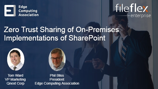 Zero Trust Sharing of On-Premises Implementations of SharePoint