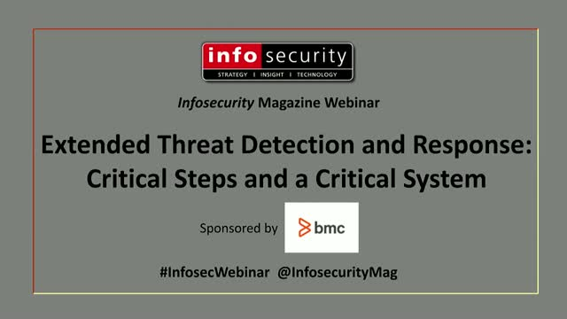 Extended Threat Detection and Response: Critical Steps and a Critical System