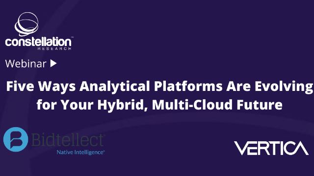 Five Ways Analytical Platforms Are Evolving for Your Hybrid, Multi-Cloud Future