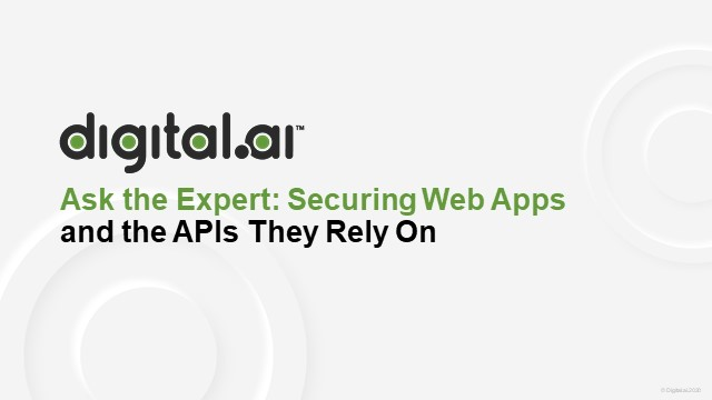 Web Application Security and the API's They Rely On