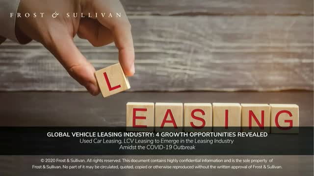 Global Vehicle Leasing Industry: 4 Growth Opportunities Revealed