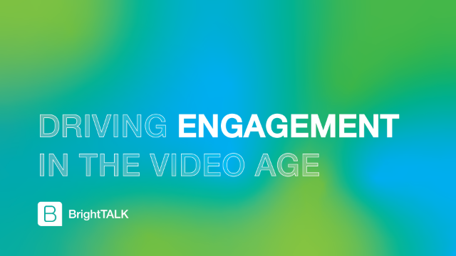 Driving Engagement in the Video Age
