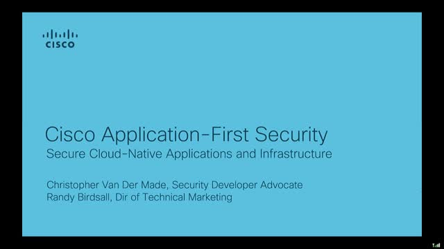 Security Automation & Orchestration Series: Application First Security