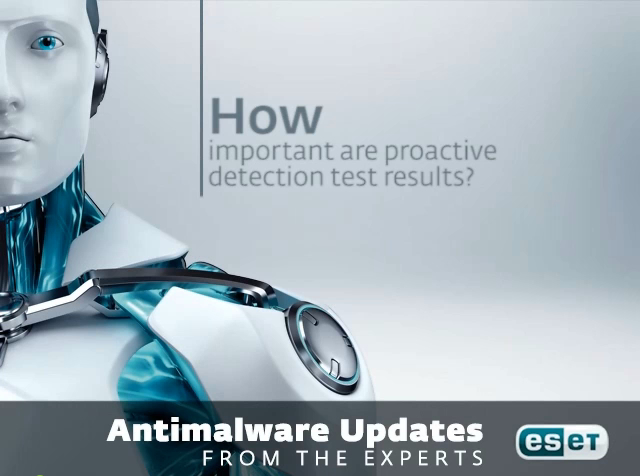 How important are proactive detection test results?