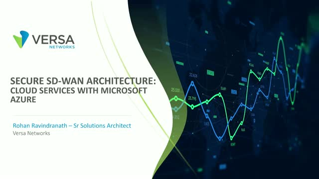 Secure SD-WAN Architecture: Cloud Services with Microsoft Azure