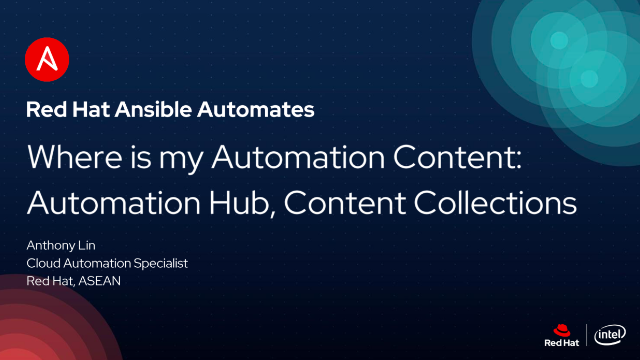 Where is my Automation Content: Automation Hub, Content Collections