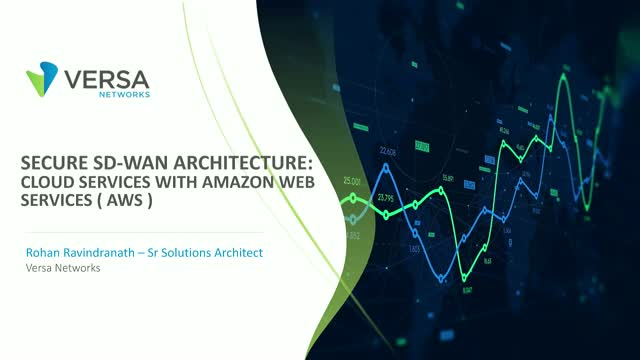 Secure SD-WAN Architecture: Cloud Services with Amazon Web Services (AWS)