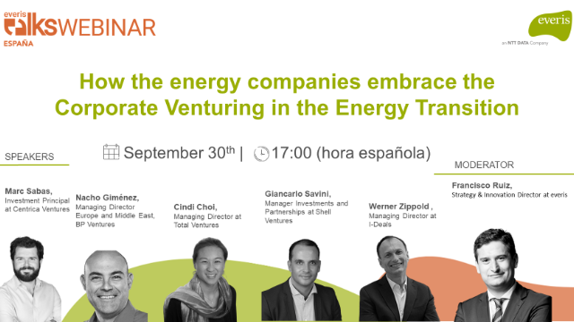How the energy companies embrace the Corp. Venturing in the Energy Transition?
