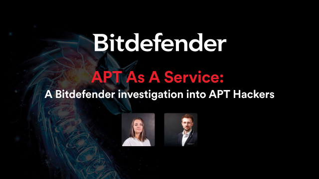 APT As A Service: A Bitdefender investigation into APT Hackers