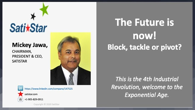 The Future is now! Block, tackle or pivot?
