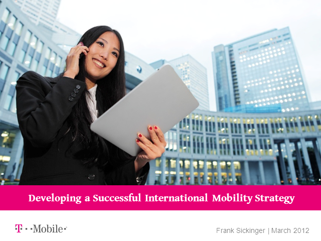 Developing a Successful International Mobility Strategy