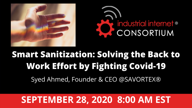 Smart Sanitization: Solving the Back to Work Effort by Fighting Covid-19