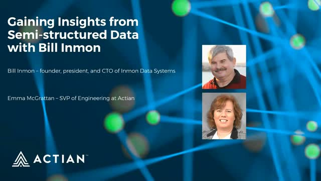 Gaining Insights from Semi-structured Data with Bill Inmon