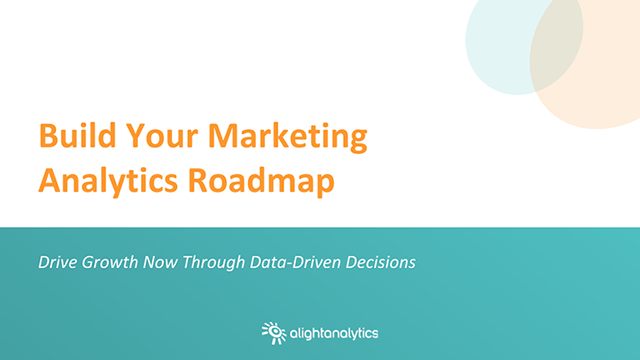 Build Your Marketing Analytics Road Map to Growth