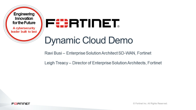 Dynamic Cloud Demonstration